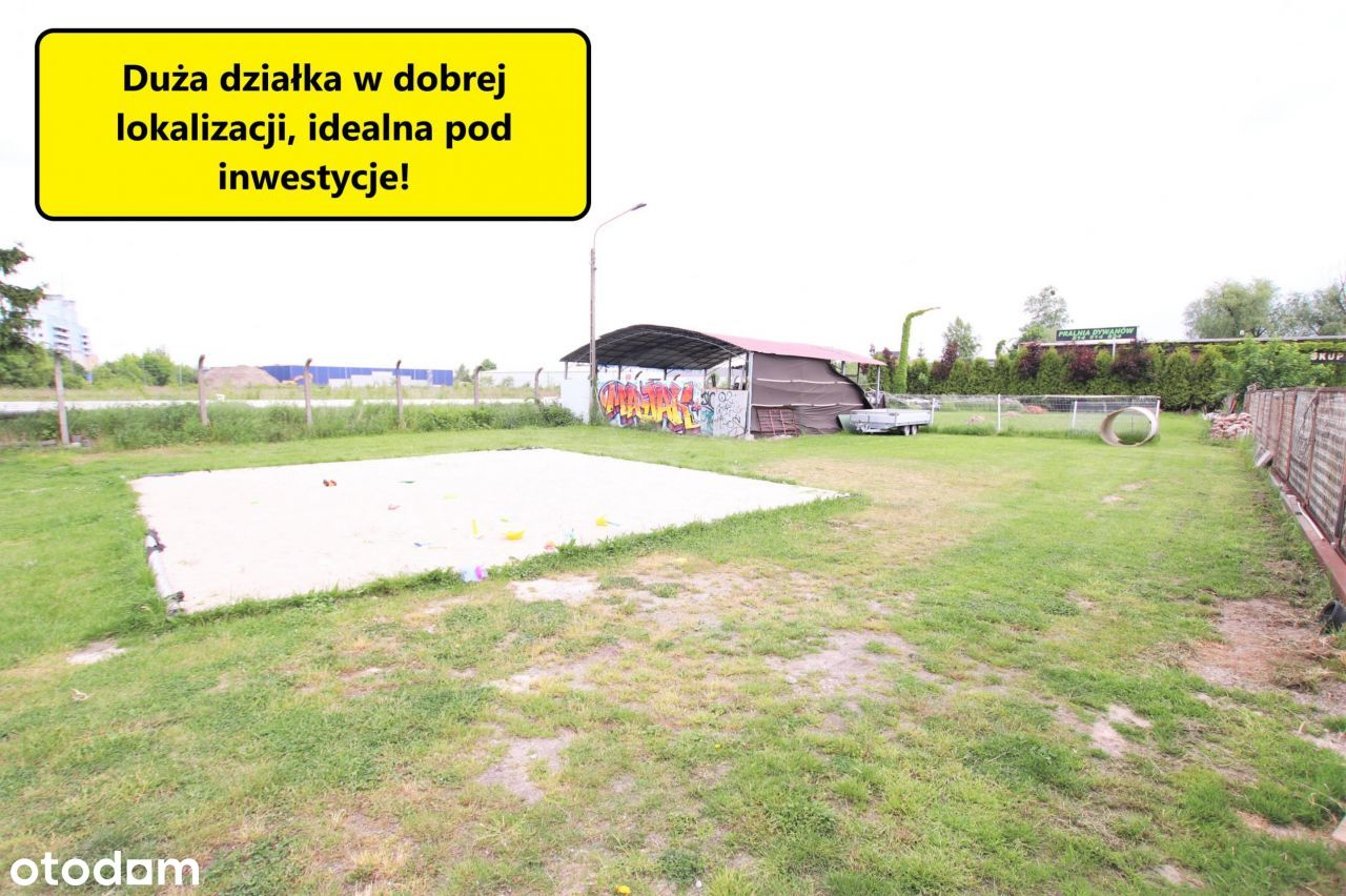 2000m2 przemysłowo-usługowej działki na Psim-Polu