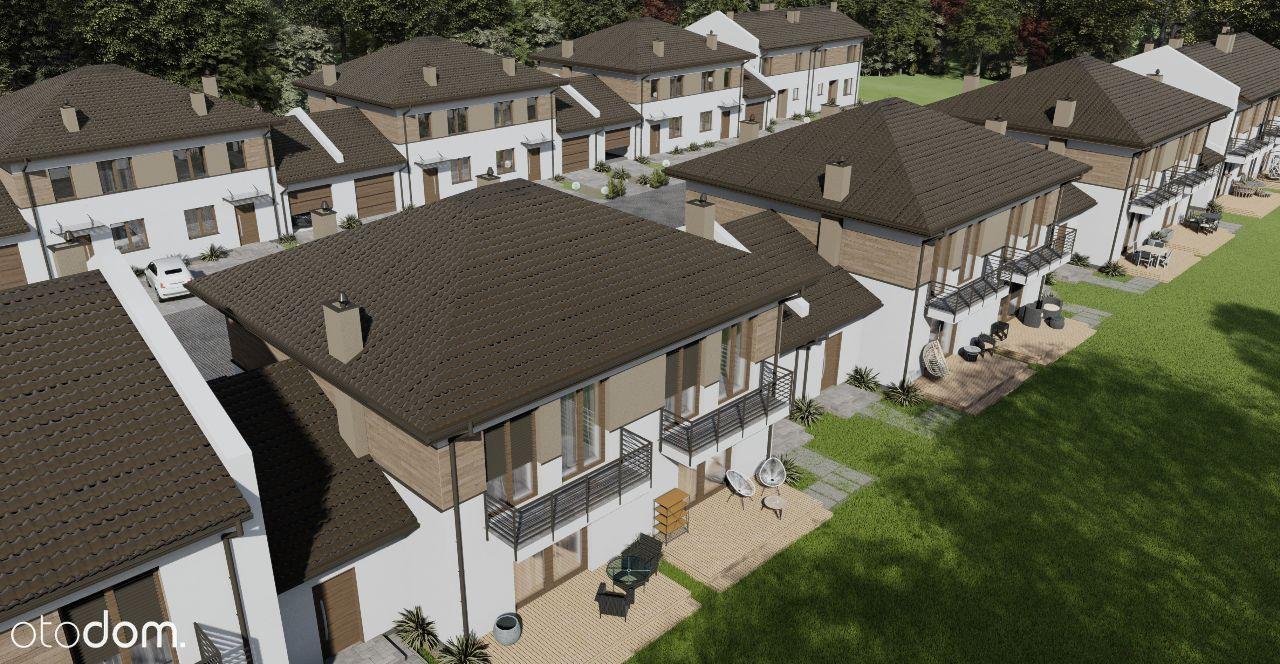Osiedle domów w zabudowie szeregowej w Grodzisku