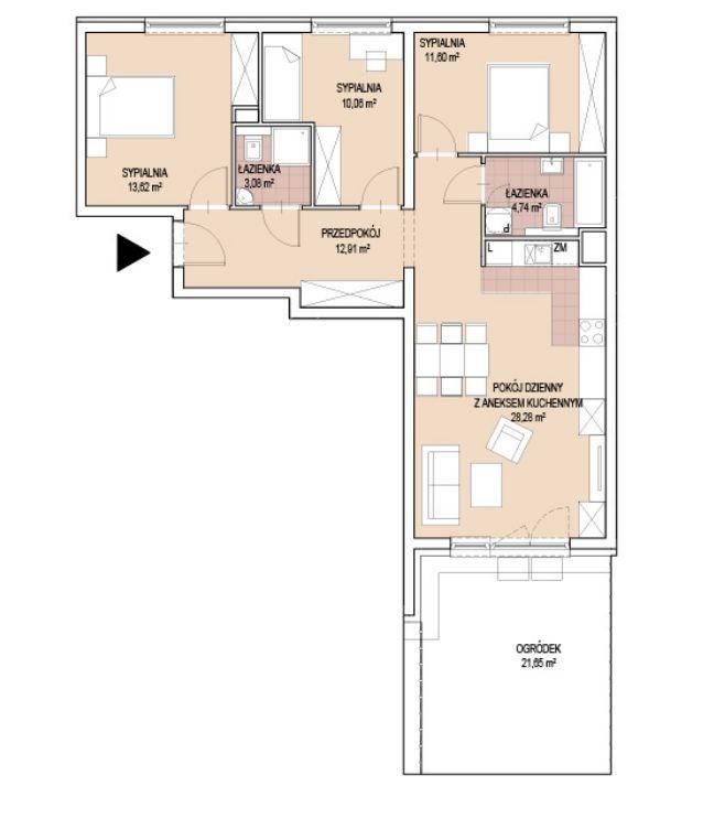 Ostatnie gotowe mieszkanie-PIĘKNY OGRÓD-RABAT