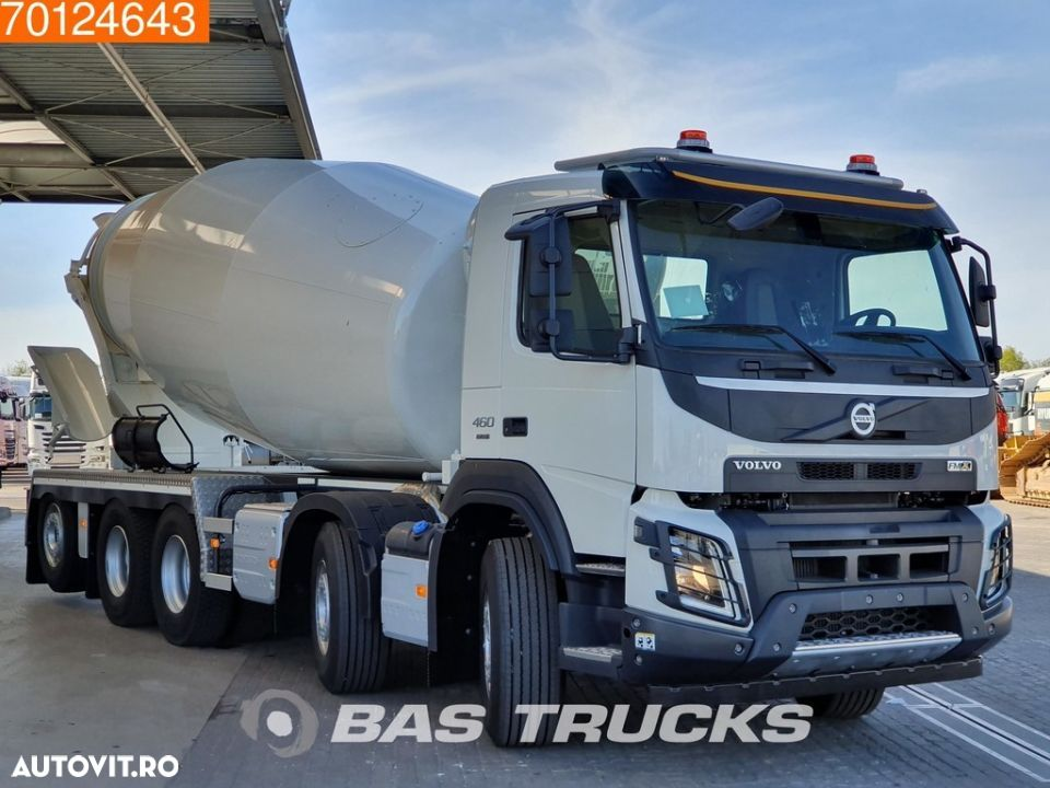 Volvo FMX 460 10X4 More units available! 15m3 Schwing Stetter 10X4 VEB+ Euro 6 - 3
