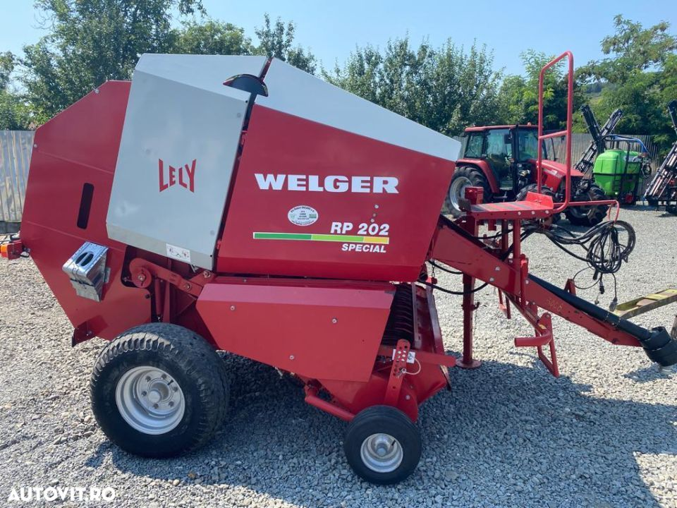 Lely Welger RP 202 special - 2