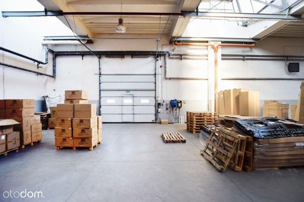 Ogrzewana powierzchnia na produkcję lub magazyn