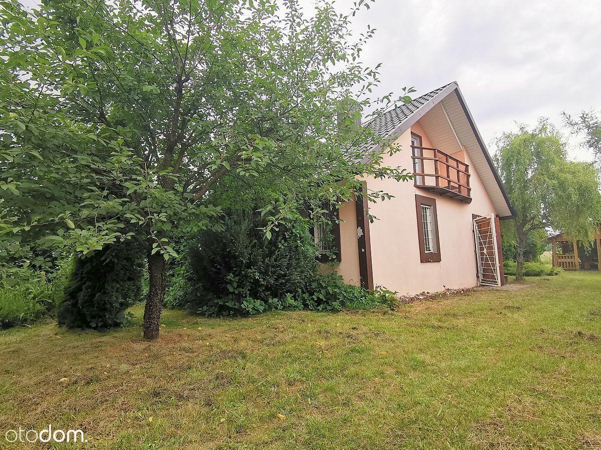 Dom 80 m2. Działka 5000 m2. Rybie gm.Rejowiec