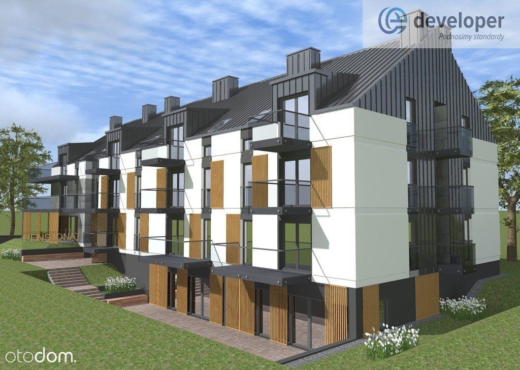 Grunt pod apartamentowiec + projekt