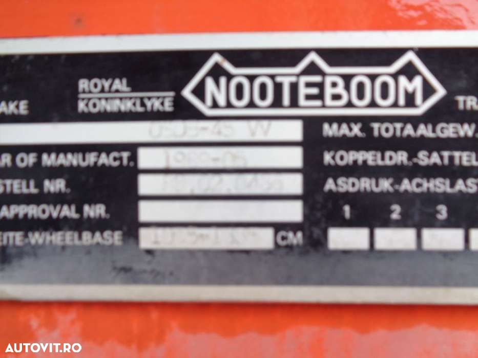Nooteboom 48TON! Extendable long + wide + multiple pressure points - 20