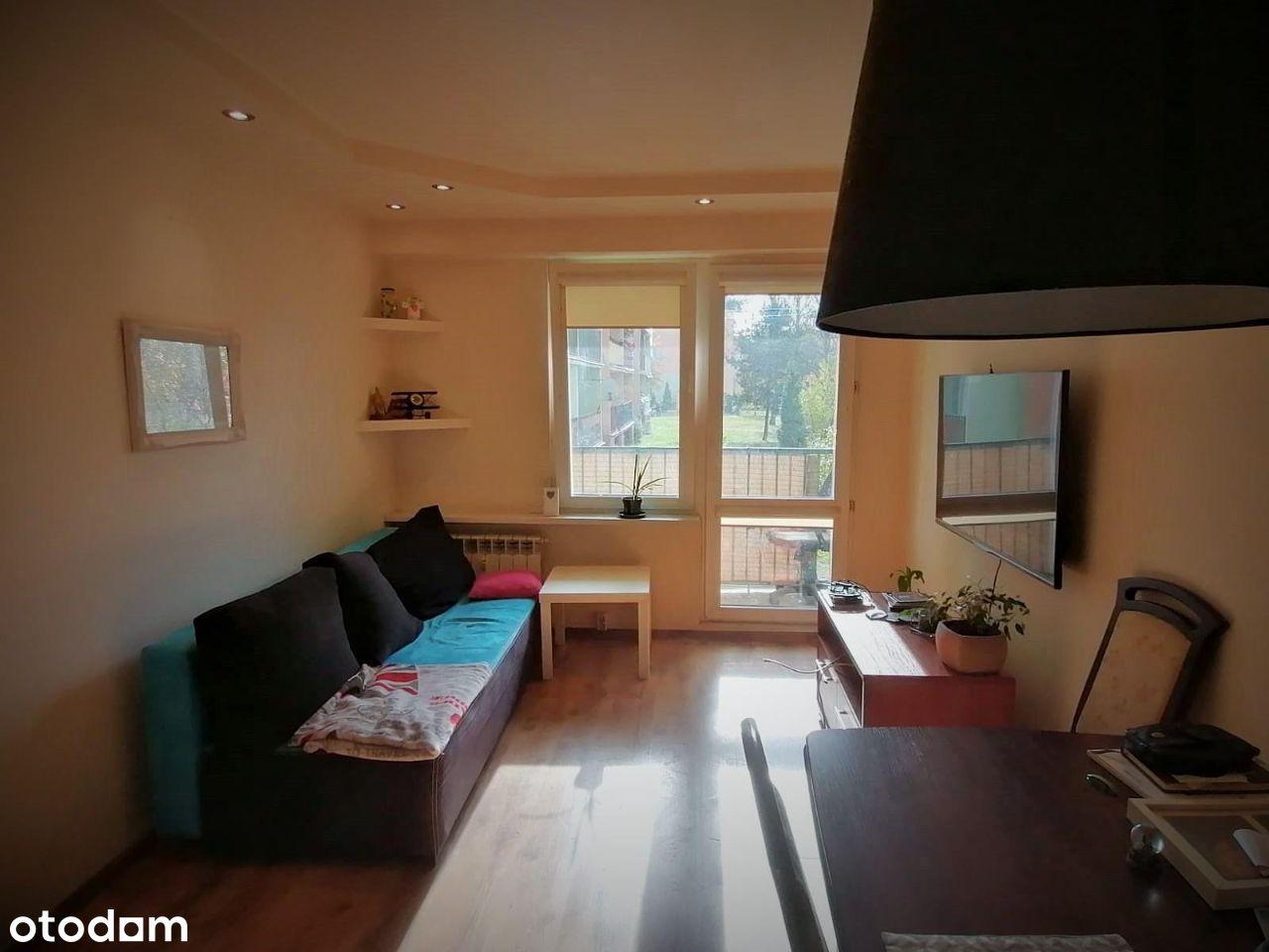 Mieszkanie na parterze, 2-3 pokoje, os. Okrzei