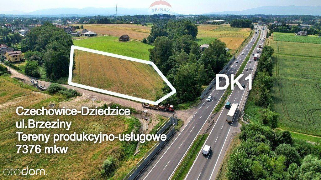 Działa usługowo-przemysłowa Dk1 Czechowice-Dz