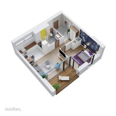 Nowe mieszkanie 2 pokoje 46,58m2, bez pośredników!