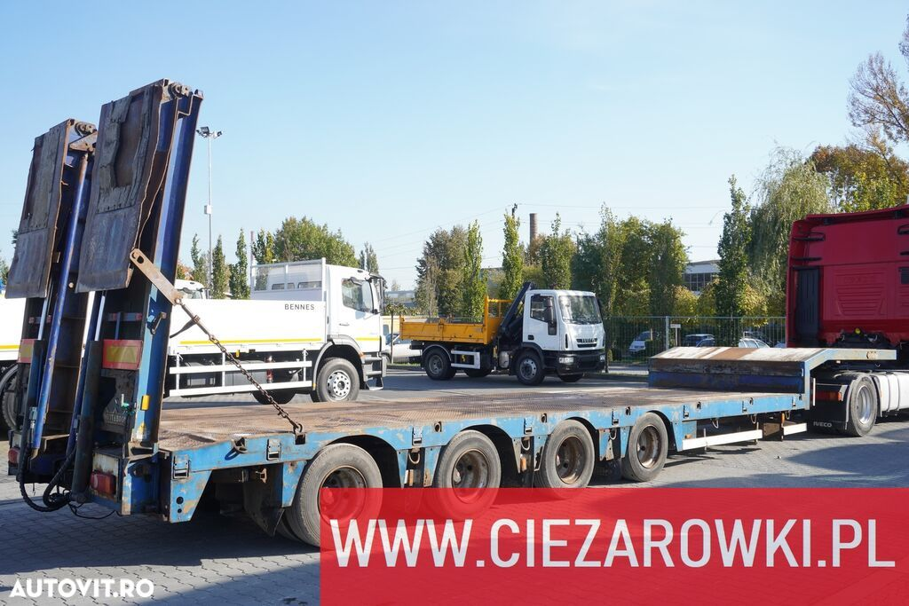 Nooteboom OSDS-58-04 , 4 axles , expanded , 13,15 x 3,07m , hydraulic ramp - 1