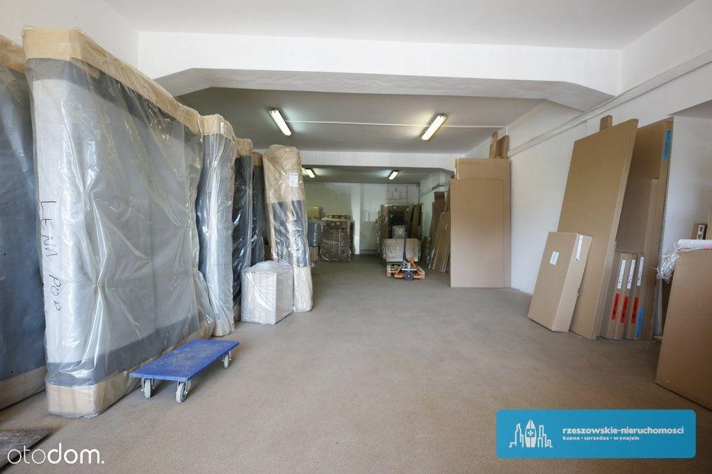 Magazyn 130 m2, rampa rozładunkowa, Rzeszów.