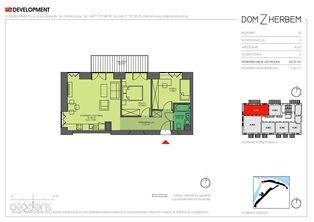 3pokojowe mieszkanie Dom z Herbem i2 4.M5