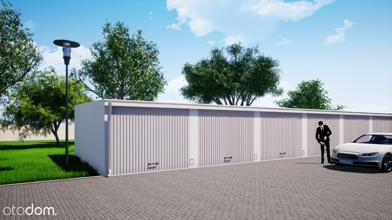 Nowe garaże w Raciborzu przy ul. Rostka/Bema