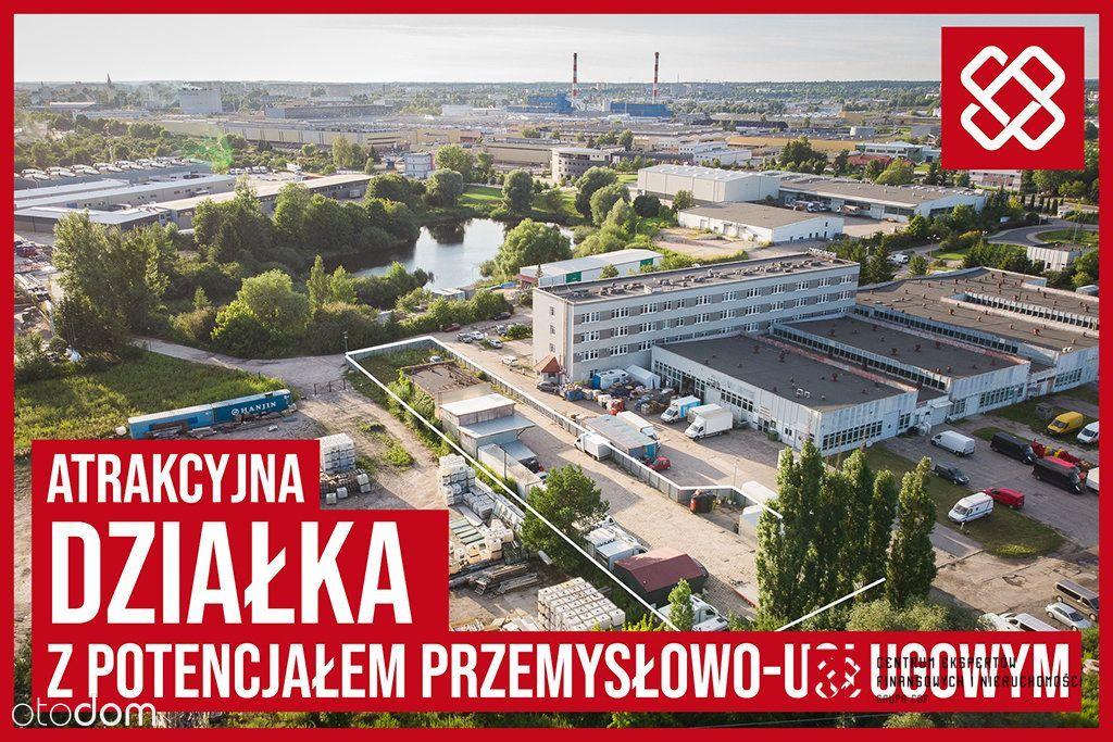 Działka inwestycyjna, Olsztyn Al. Piłsudskiego 76C
