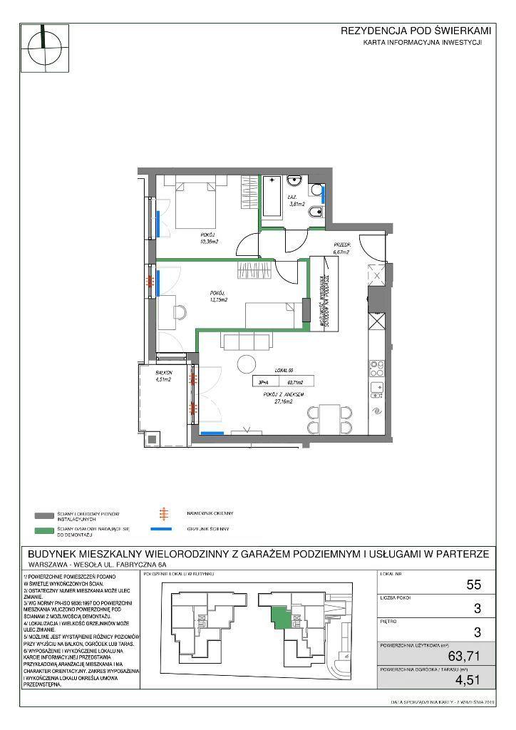 Mieszkanie z dodatową powierzchnią