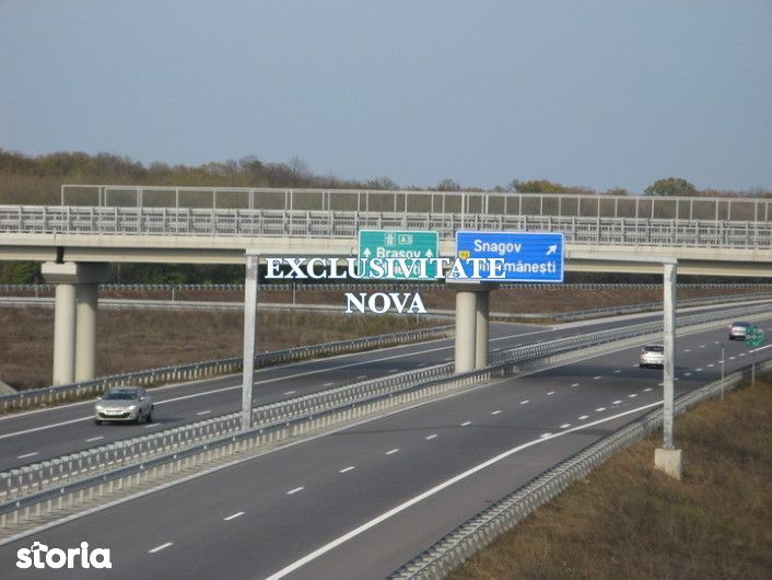 0% ! Teren de EXCEPTIE 13Ha, 15 minute de Bucuresti Exit A3