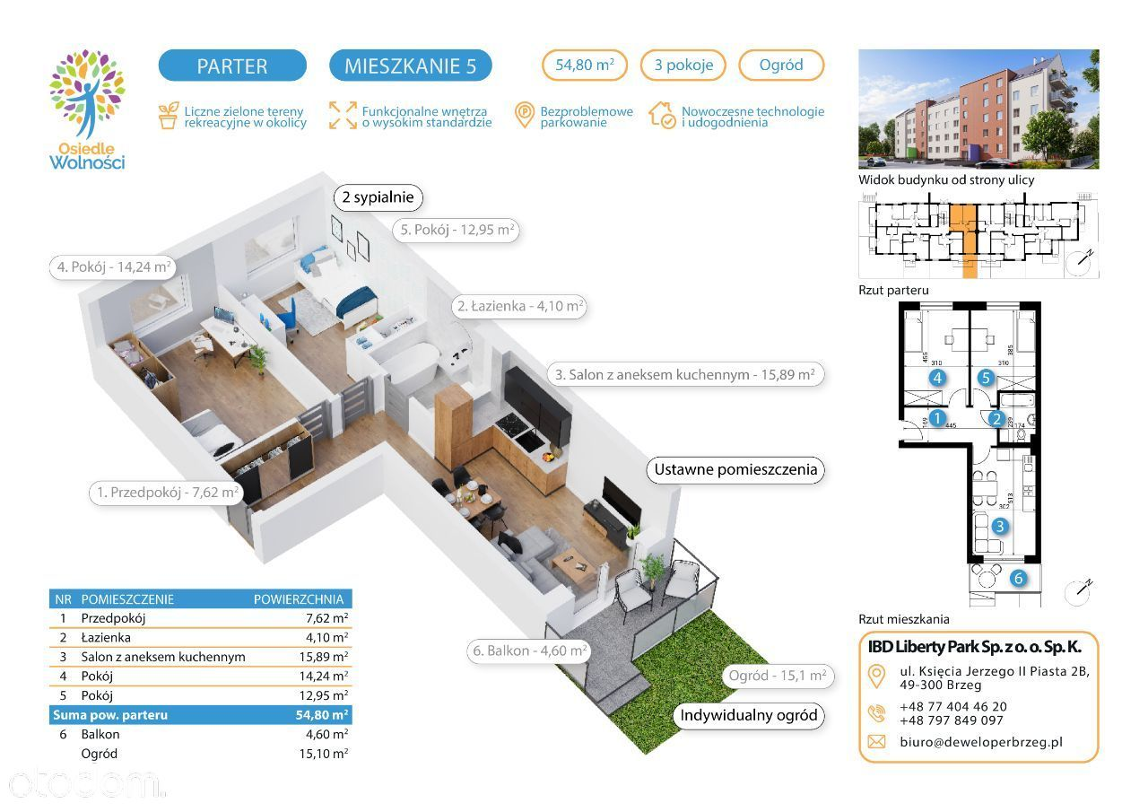 Typ 5 - mieszkania nr 5, 26