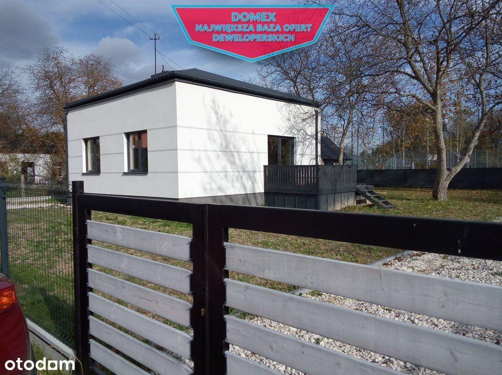 Dom parterowy w Grodzisku Mazowieckim.