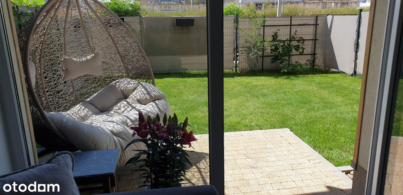 Nowe*2 pokoje*duży ogródek*z wyposażeniem*Jagodno