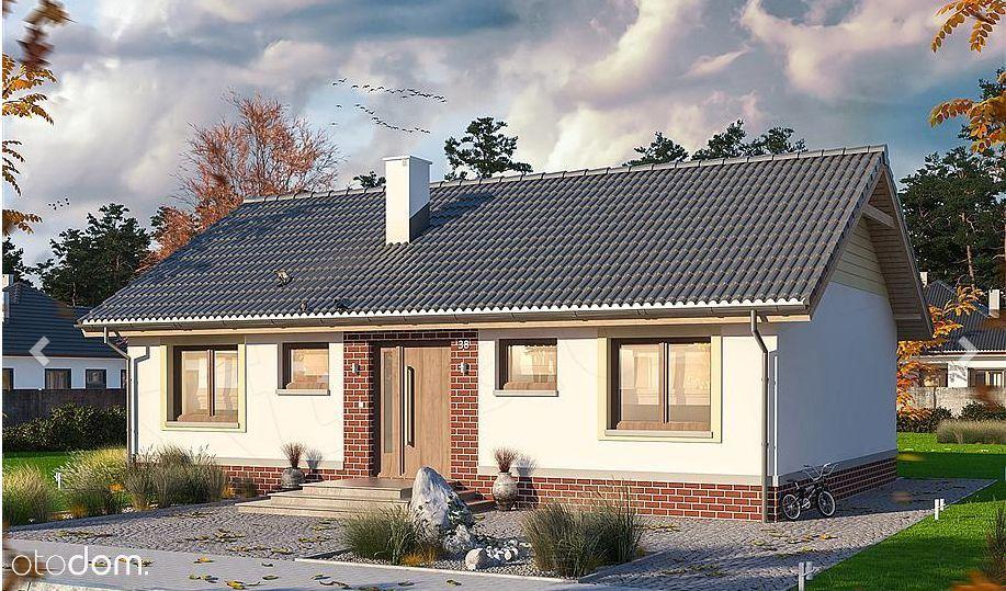 Parterowy nowy dom wolnostojący na dużej działce