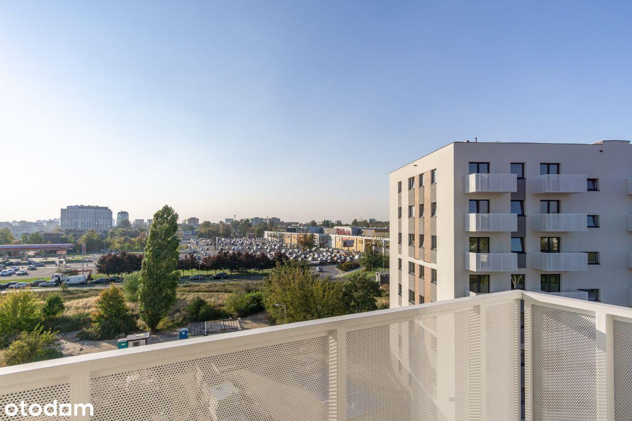 3 pok. z super widokiem na panoramę miasta bez PCC