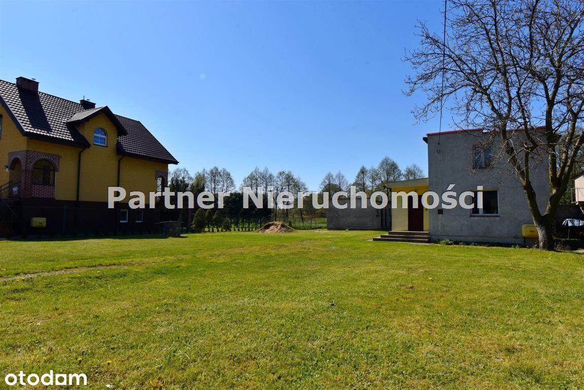 Działka z domem osiedle Grębocin