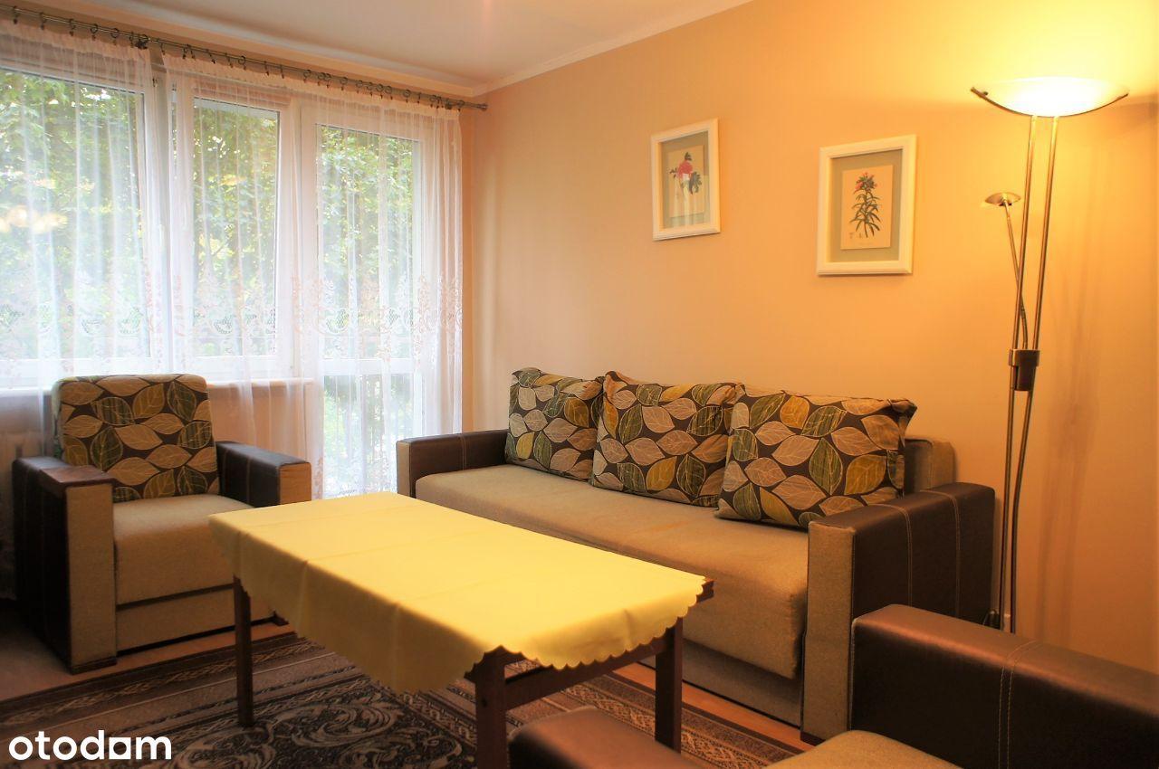 Cicho, zielono, wygodnie. 2 pokoje na Nowym Dworze
