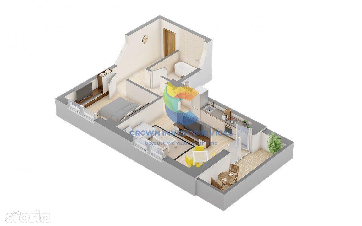 Apartament 2 camere, zona centrala, Palas, Amazon, Universitate, Tudor