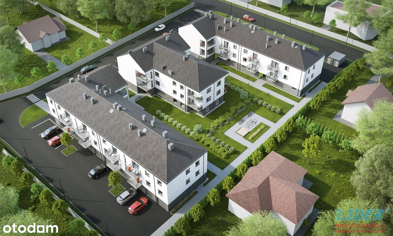 Mieszkanie, 62,07 m², Tychy