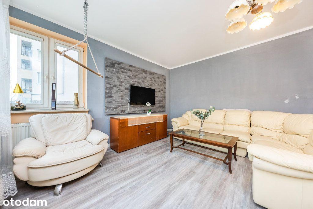 Duże mieszkanie, 92.6 m², tuż przy J. Gocławskim