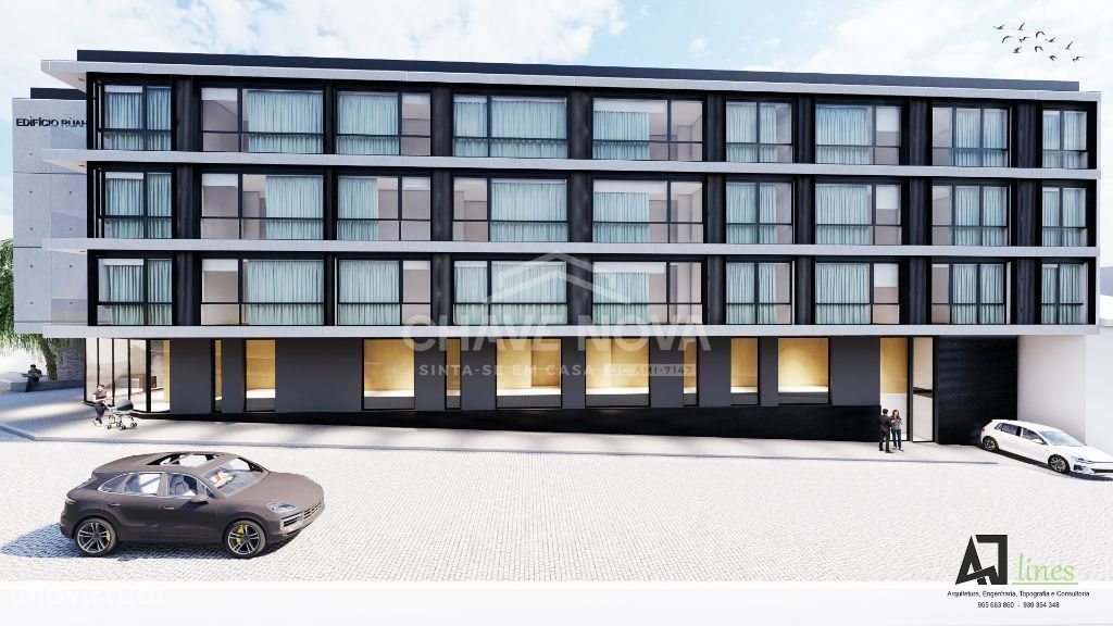 MV - Apartamento T1 novo, Av. Republica e metro a 30 mts