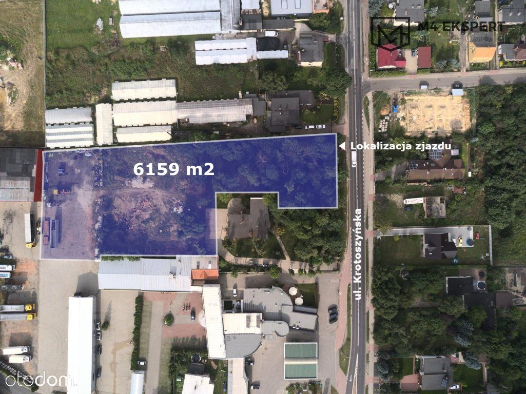 6169m2   Ostrów Wlkp.   Krotoszyńska