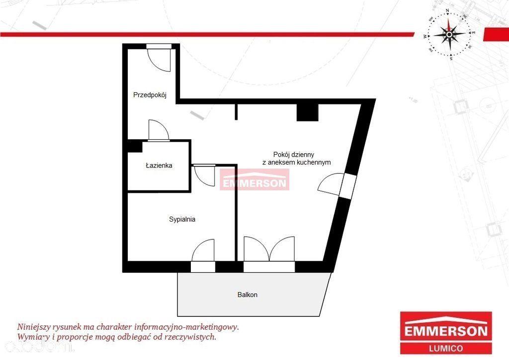 Mieszkanie 2 pokoje świetna lokalizacja ekspozycja