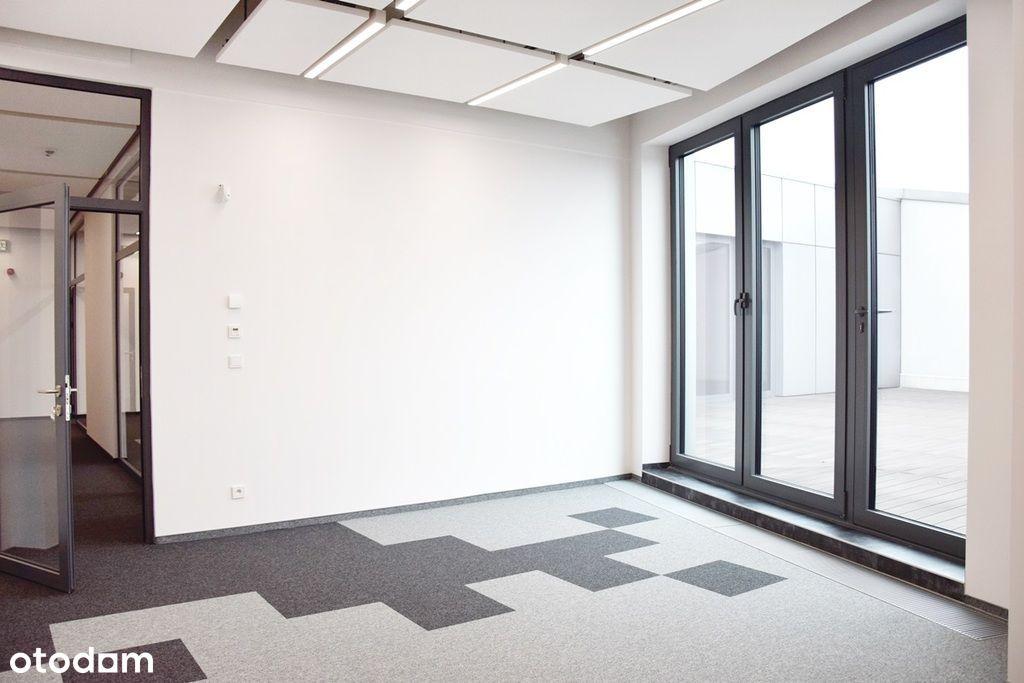 Biuro w nowoczesnym biurowcu na Widzewie