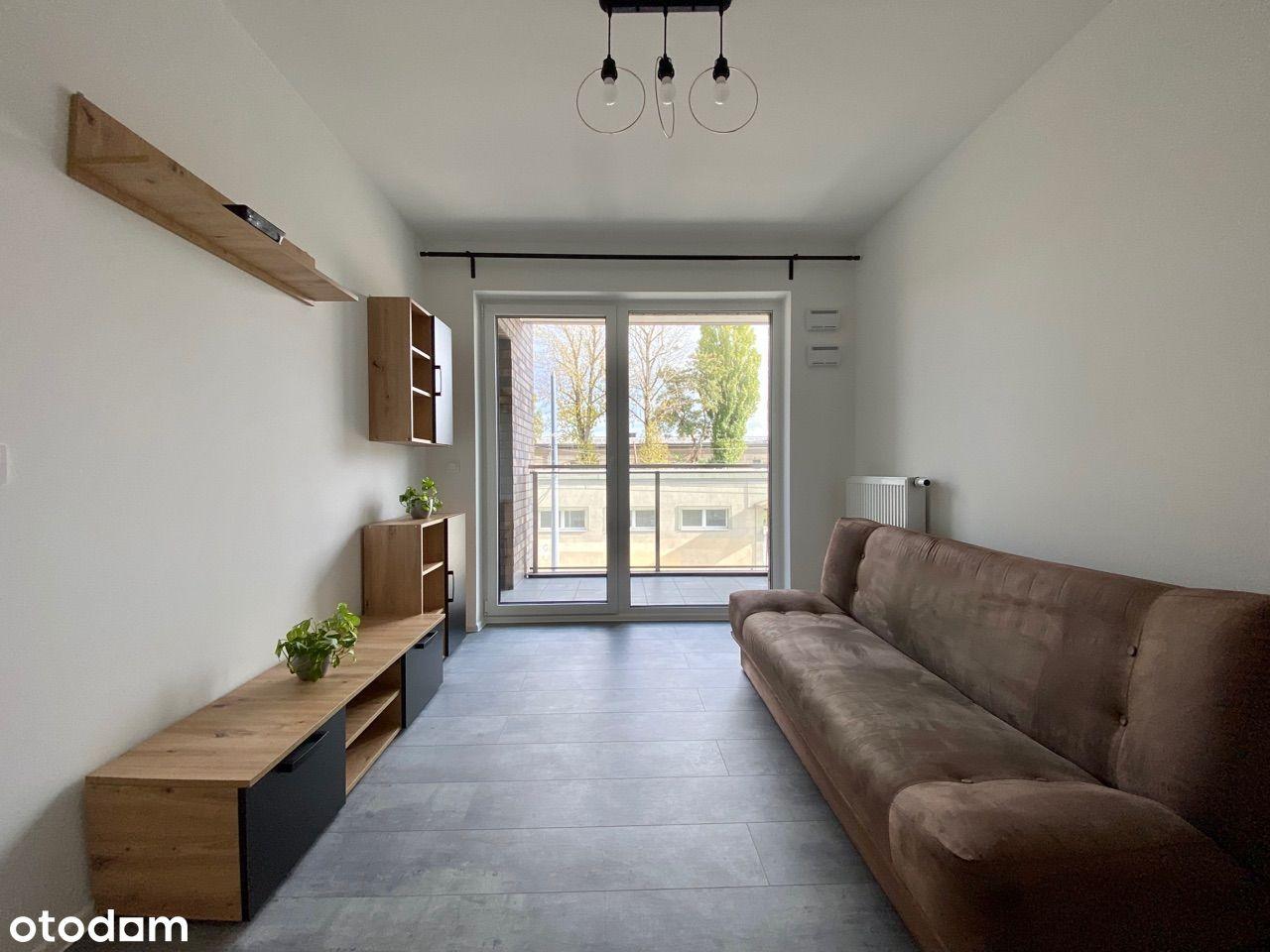 Nowy apartament z balkonem w ścisłym centrum Łodzi