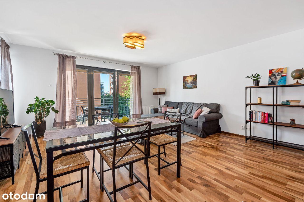 Słoneczne tarasy, 78 m2, 3 pokoje + parking