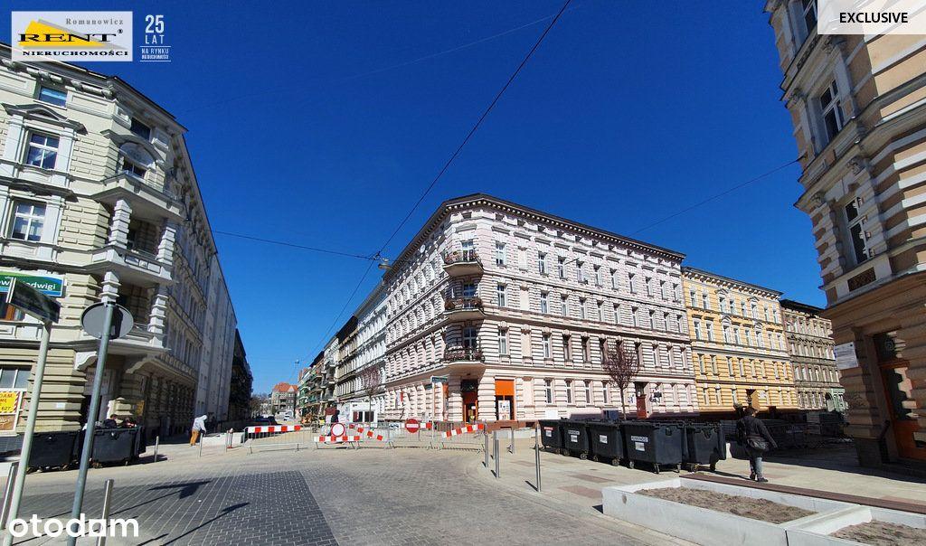 Mieszkanie 3 pokoje parter centrum Szczecina okazj