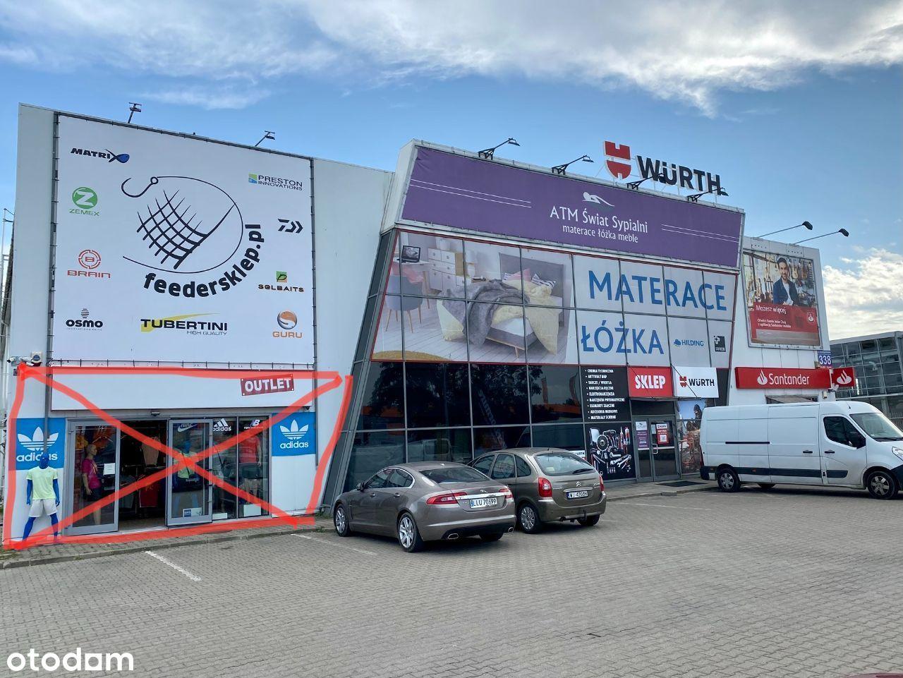 Bezpośrednio lokal handlowo magazynowy M1 Marki
