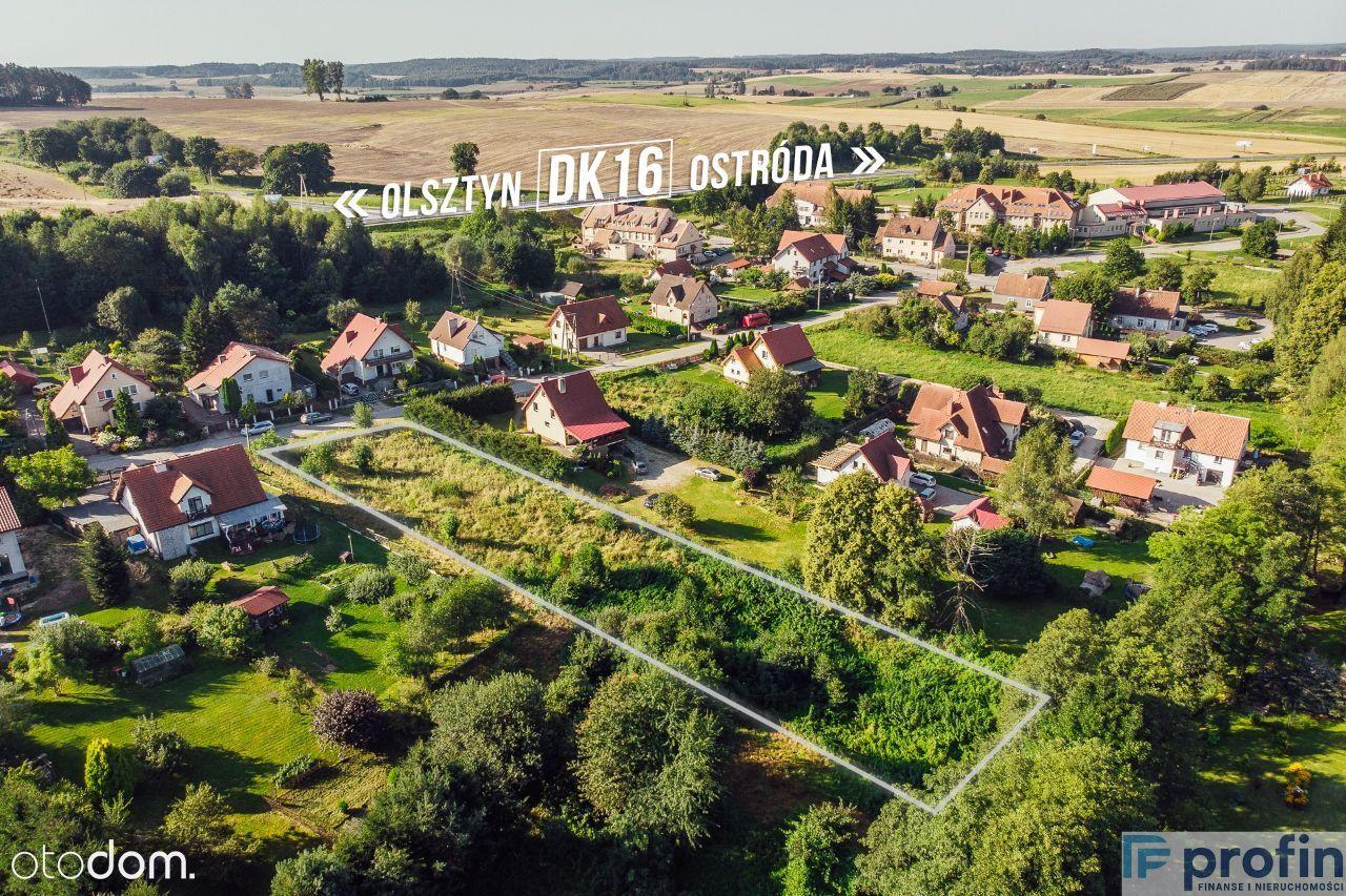 Działka na Warmii 2500 m2 Ostróda Gietrzwałd