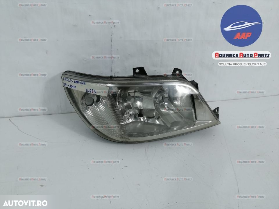 Far dreapta Mercedes Sprinter 1996-2000  cu halogen originala - 3