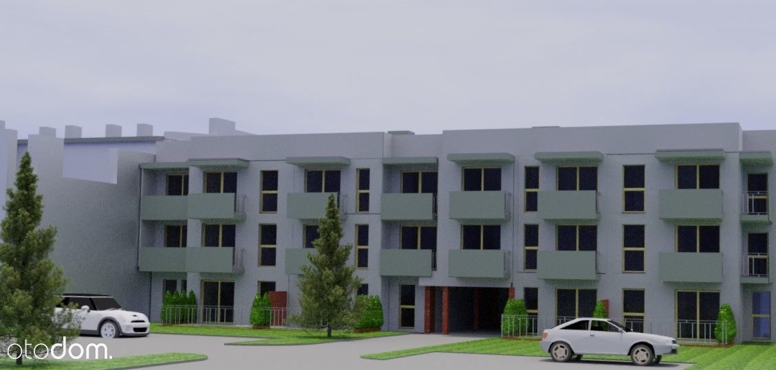 Poznańska 97. Nowa kawalerka 28,24m2 na 2 piętrze