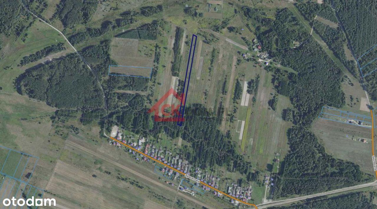 Działka rolna 7400m2, Lesica, gm. Piekoszów