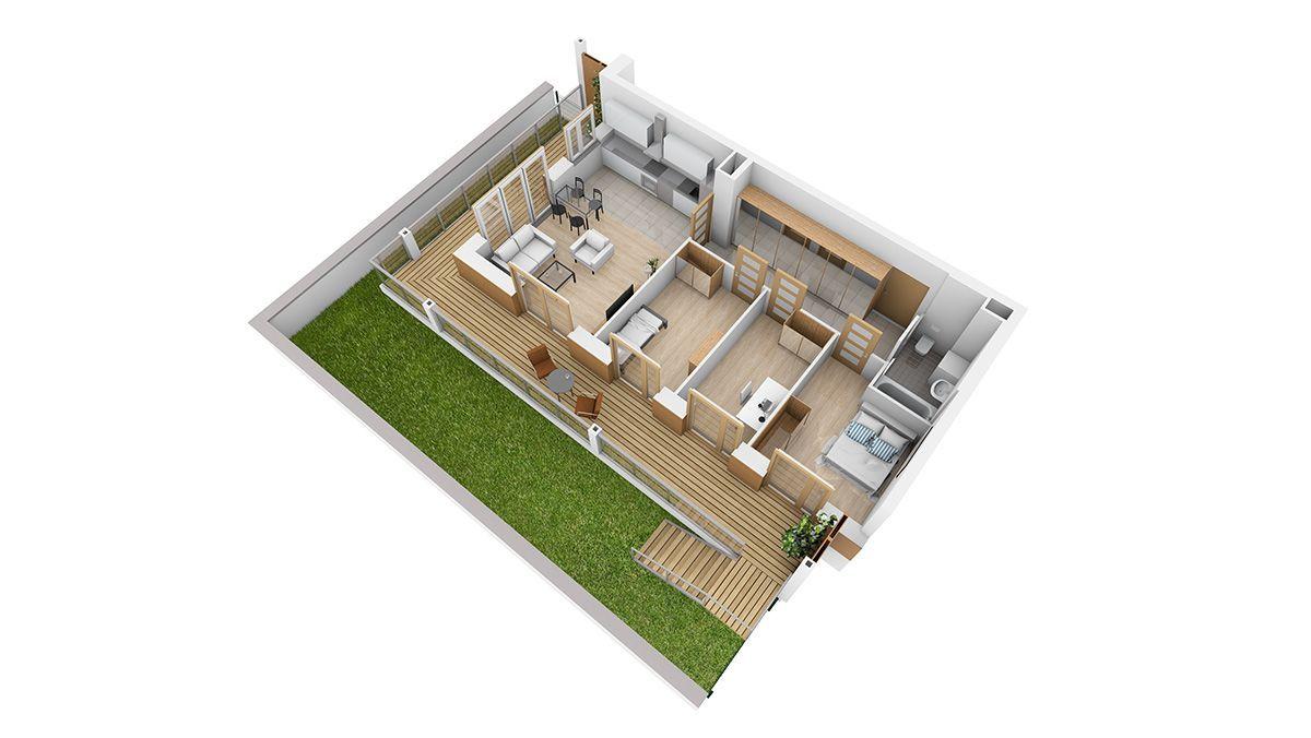 Nowe Mieszkanie Osiedle Koralowe 67m2 z ogródkiem
