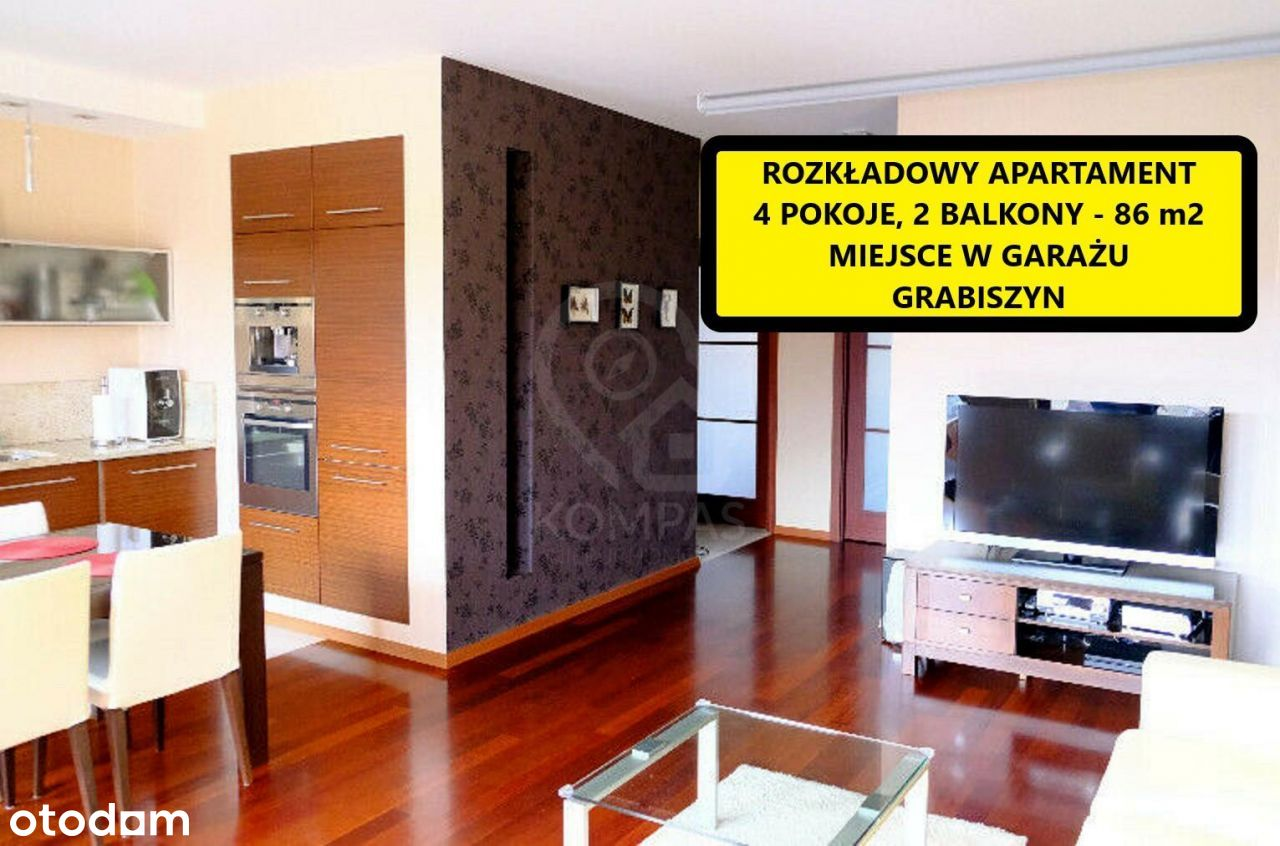 4-Pokojowy Apartament przy Rymarskiej