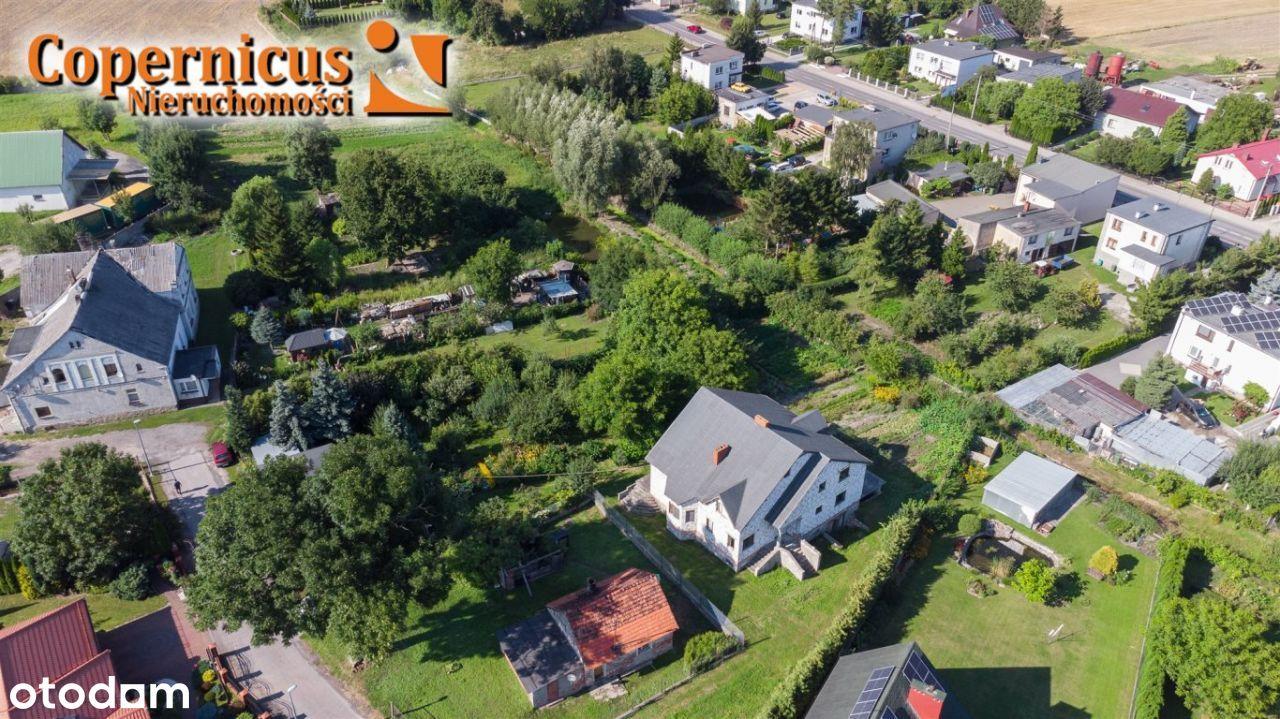 Dom z ogromnym potencjałem 15km od centrum Torunia