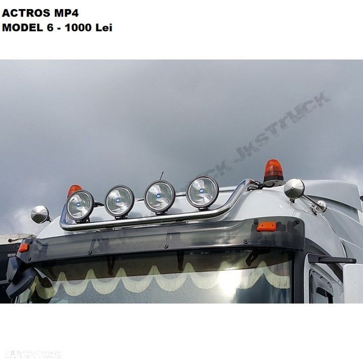 Bullbar Mercedes Actros Mp4 - 6