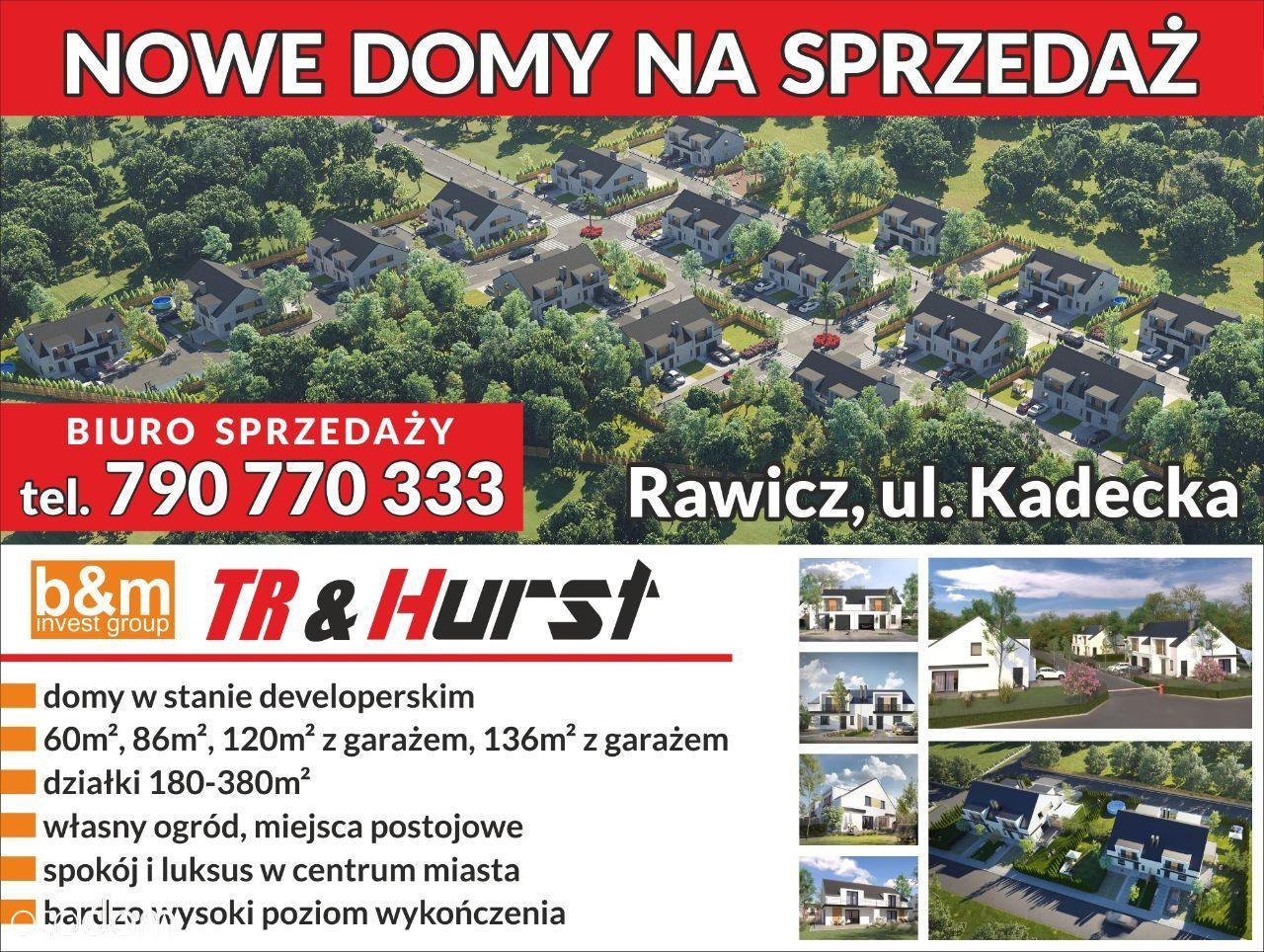 Nowe mieszkanie z ogrodem 190 m2 w Rawiczu Rawicz