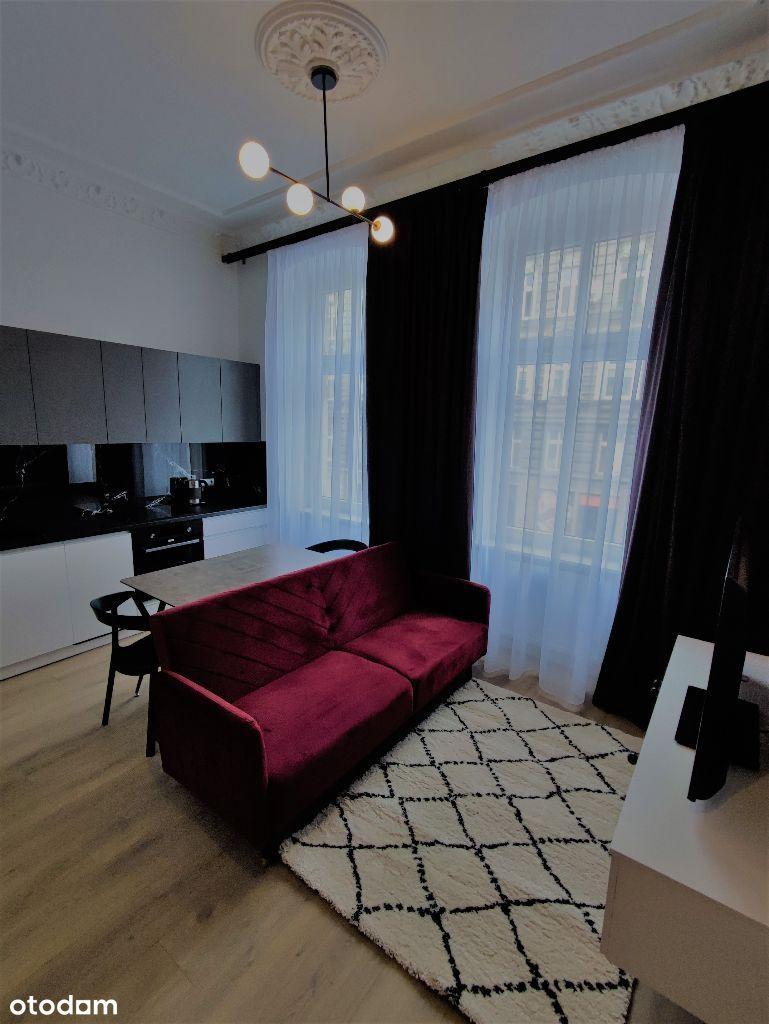 Piękne nowe mieszkanie w ścisłym centrumWyposażone