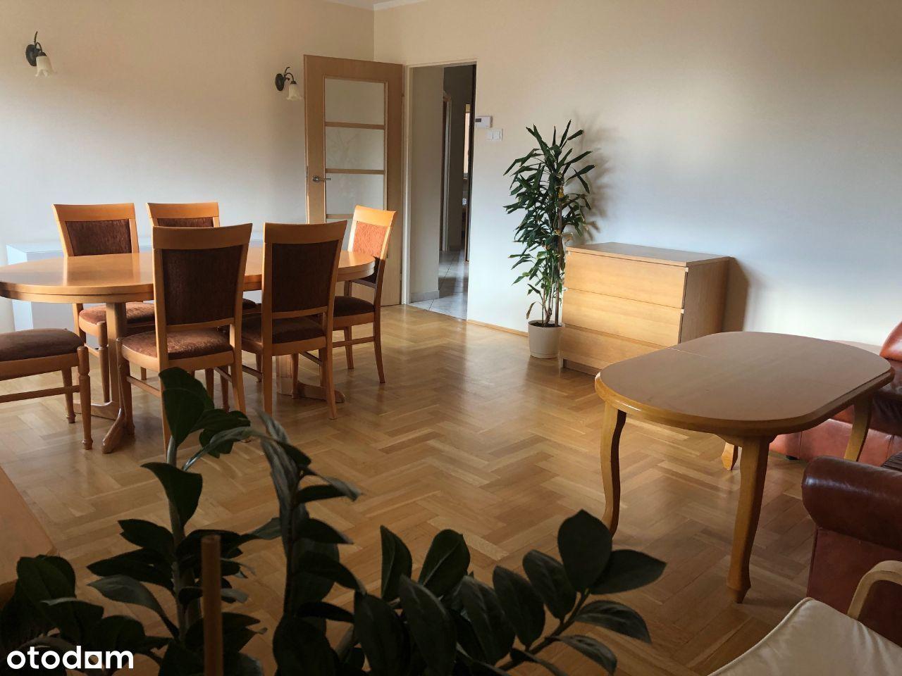 Wynajmę 4 pokojowe mieszkanie w Krakowie Ruczaju