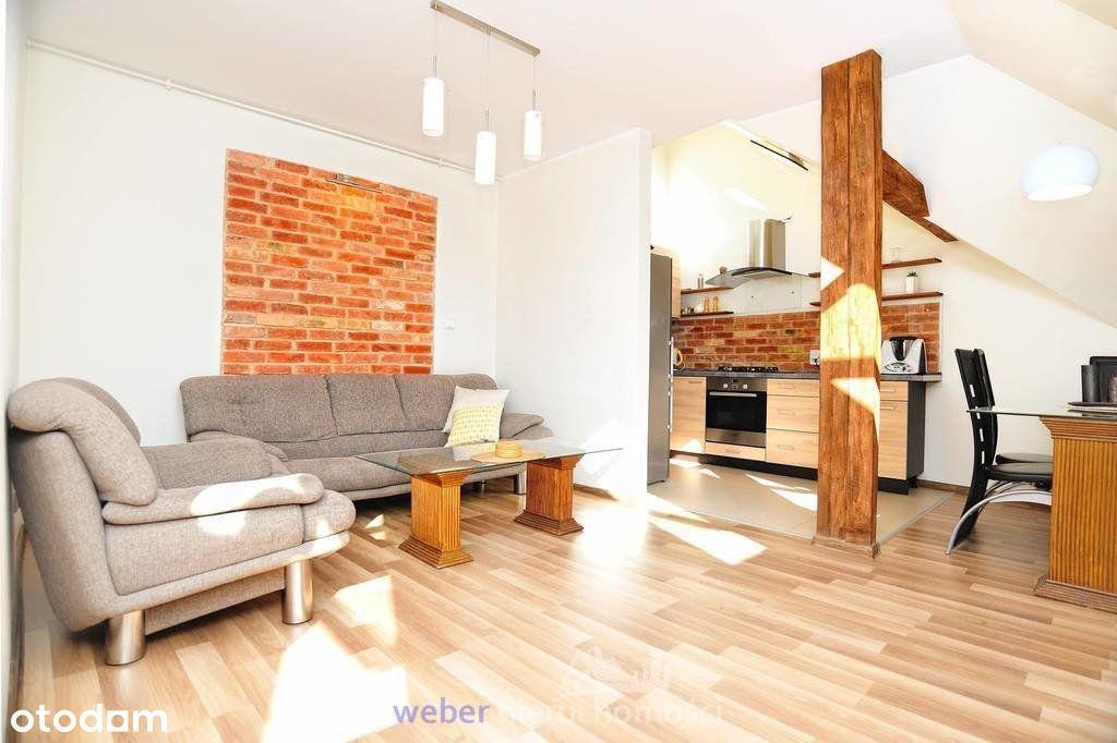 Komfortowy 2-poziomowy apartament z 2 łazienkami
