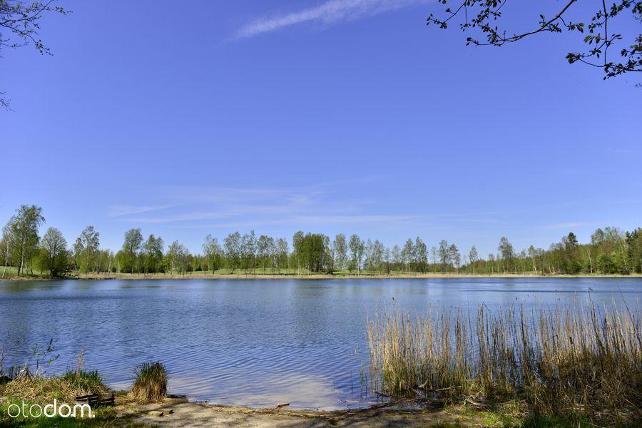 Mazury, Ogonki - działka nad jeziorem pod Twój dom